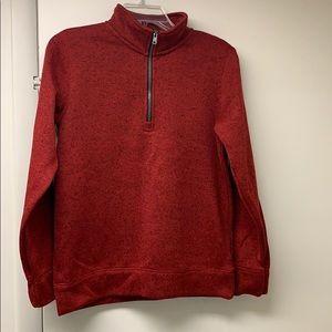 Arizona Boys Large 1/4 Zip Sweatshirt 14/16
